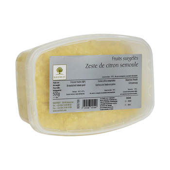 Ravifruit Frozen Lemon Zest