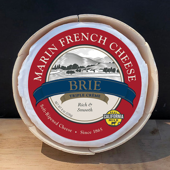Marin French Cheese 80z Triple Cream Brie Cheese