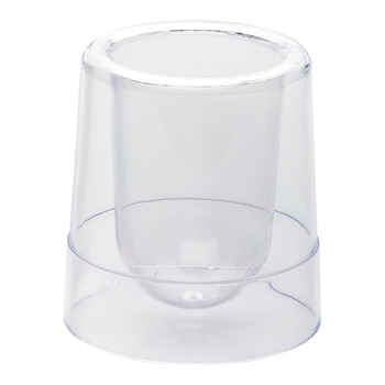 Rw Dble Walled Cup Clear 2 oz
