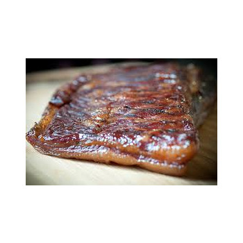 Baker's Bacon Dry Cured Double Smoked Slab f
