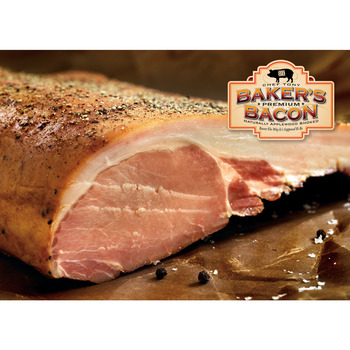 Baker's Bacon English Style Slab Back Bacon