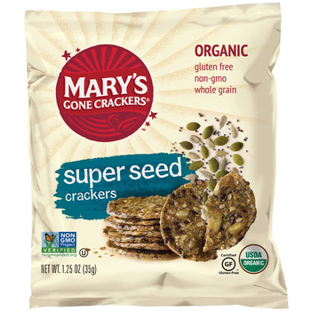 Crackers Super Seed Marys Gone