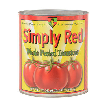 Simply Red Whole Peel Tomatoes