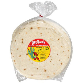 Mr Tortilla Flour Wrap 12