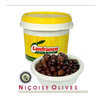 Brown Olives Nicoise Ptd