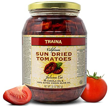 Traina California Julienned Sundried Tomatoes In o