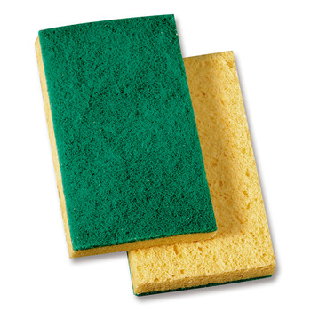 Green & Yellow Scrubby Pads