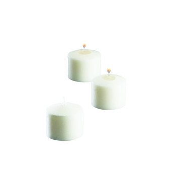 Votive Candles White 10 Hour