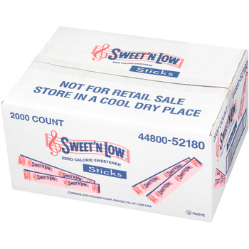 Sweet n Low Sugar Sticks
