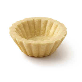 Pidy Pastry Shell Round - Neutral - Fluted