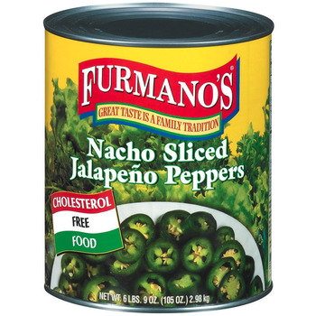 La Preferida Jalapeno Peppers, Green Nacho Sliced