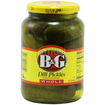 Pickles Whole Dill (ou)