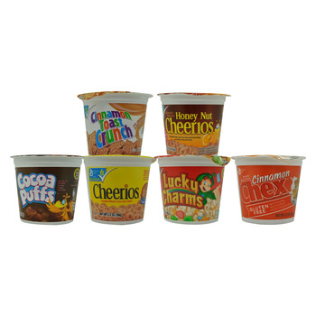 Cereal Asst Pack In a Cup