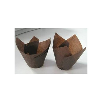 Baking Tulip Cup Brown