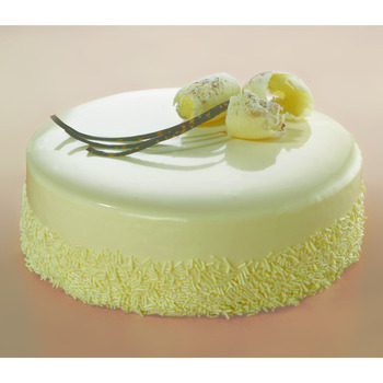 Irca White Chocolate Mirror Glaze
