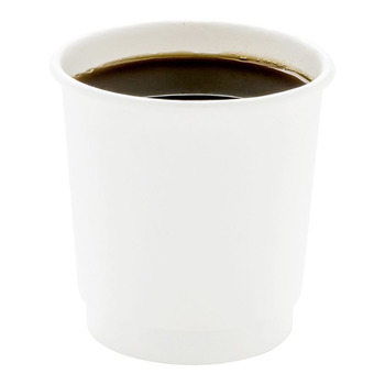 White Double Wall Coffee Cup