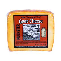 Natural Valley Muenster Goat Cheese (8 Oz. x 12)