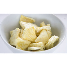 Pineapple Chunks Freeze Dried