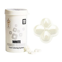 Ibc Power Flowers - White - Cocoa Butter - Non Azo