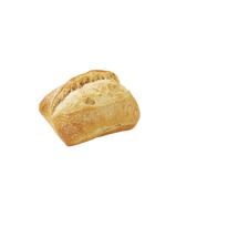 Bread Roll Plain Square Rtb