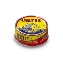 Tuna In Olive Oil Round Ortiz