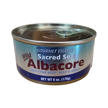 Sacred Sea Canned Wild Albacore Tuna