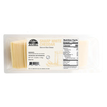 Emmi Roth White Cheddar Sliced