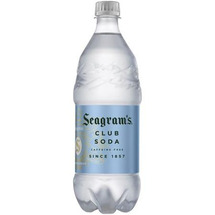 Club Soda Seagrams Glass