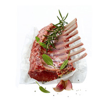 Lamb Rack Frenched Cap Off