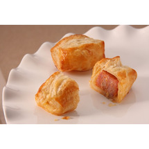 Andouille Hot Saus Wrpd Pastry