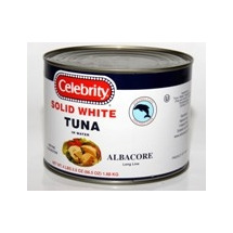 Solid White Tuna In Water Ruby