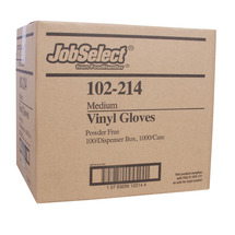 Gloves Vinyl Medium Powdr Free
