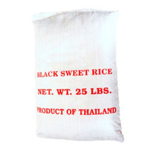 Rice Black Sweet Rice 25lbs