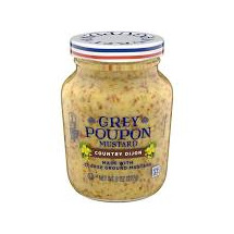 Mustard Country Dijon Grey Pou