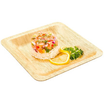 Rw Bamboo Leaf Plate 8 Inches