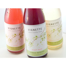 Vignette Rose Soda